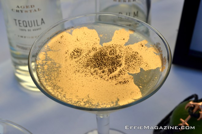Allaire's Golden Hell Or High Water Martini