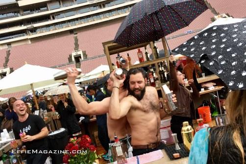 Bartenders Brave Buckets of Rain