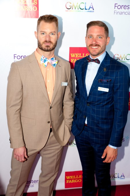 Voice Awards Co-chairs Gary Turner and Michael Pusnik