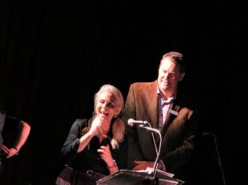 Jane Kaczmarek and Steve Brockmeyer