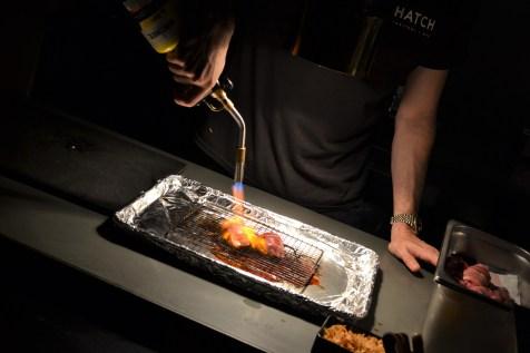 Special Wagyu Beef A5 Nigiri by Executive Chef Daniel