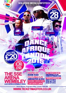 P-Square set to headline Wembley Concert in London this March