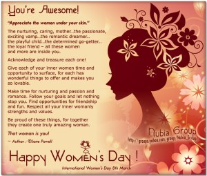 You're Awesome – A Dedication To All  Women
