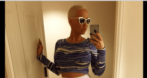 Amber Rose looking decently dressed (Photo)