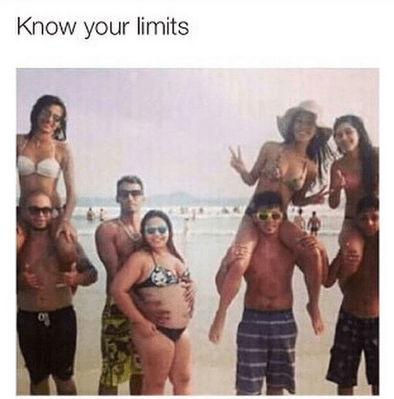 know your limit