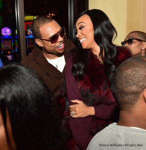 Monica Parties in New Orleans with Hubby (Photos)