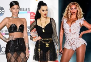 Beyonce, Rihanna, Katy Perry, Lana Del Rey Queens Of Spotify