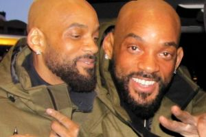 Will Smith reveals a new look (Photos)
