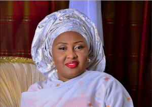 Mrs Aisha Buhari, The First Lady Of Nigeria: Official Portrait (Photo)