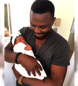 Dr Sid and his Wife Simi Osomo welcome a Baby Girl (Photo)