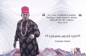 "Check out this new movie cover: ""Ghana Must Go"" (Photo)"