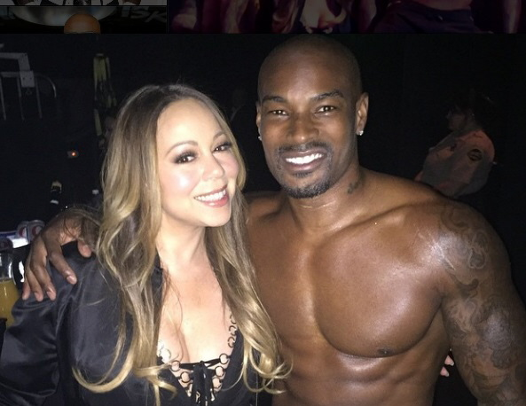Watch: Mariah Carey Gets A Sexy Lap Dance From Tyson Beckford (Video)