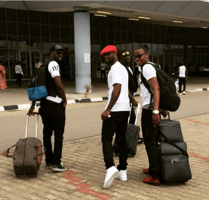 P-Square on the Move after performing at Inauguration of President Buhari (Photos)
