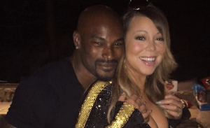 Look at how Tyson Beckford is Enjoying Mariah Carey's Body (Photo)