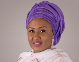 The Official Portrait Of Aisha Buhari
