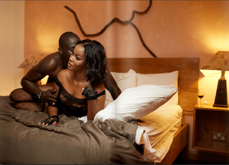 Look at how Chris Attoh is enjoying his Wife, Damilola Adegbite (Photos)
