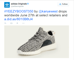Check out the new Kanye West Designed Adidas Trainers (Photos)