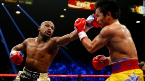 Floyd Mayweather stripped of WBO title he won in Manny Pacquiao fight