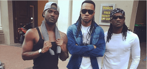 P-Square and Flavour in South Africa for African Tour + Video Shoot (Photos)