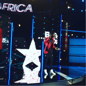 """Stonebwoy Scoops """"Best African Act"""" At The BET Awards"""