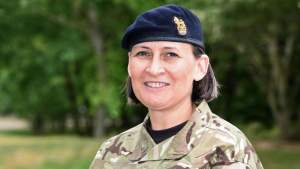First Female Major General In The British Army (Photo)