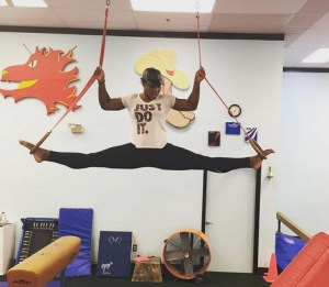 Look at how Flexible Serena Willams is (Photo)