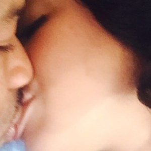 Tonto Dikeh shows off a loving kissing photo with her man