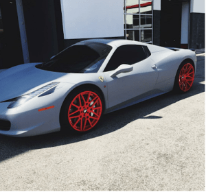 Kylie Jenner pimps out her Ferrari birthday gift from Tyga