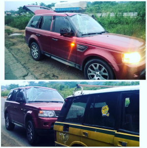 P-Square involved in Auto Crash along Lagos Ibadan Expressway