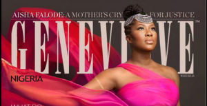 Stephanie Linus stuns as she graces the cover of Genevieve magazine (Photo)