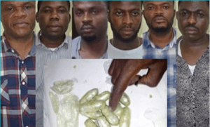 NDLEA arrests six for swallowing $156,000