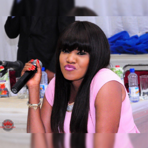 Toyin Aimakhu looking sweet in pink dress (Photos)