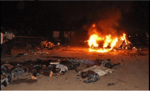 NEMA Claims 15 Dead, 41 Injured in Abuja Bombing (Graphic Photo)