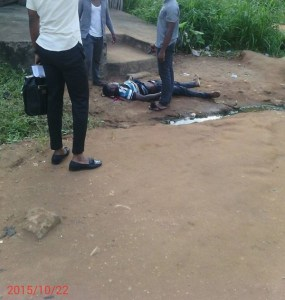 , Student reportedly shot dead in Imo State University (Graphic Photos), Effiezy - Top Nigerian News & Entertainment Website