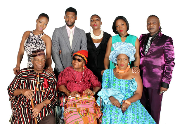 Charlie Boy's Family aged parents