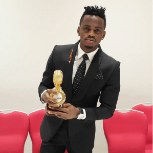 Throwback Photo of Diamond Platnumz Working As A Filling Station Attendant