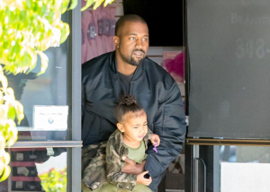 Kanye West takes daughter, North to Ballet (Photos)