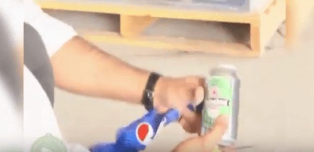 man caught with beer disguised as pepsi1