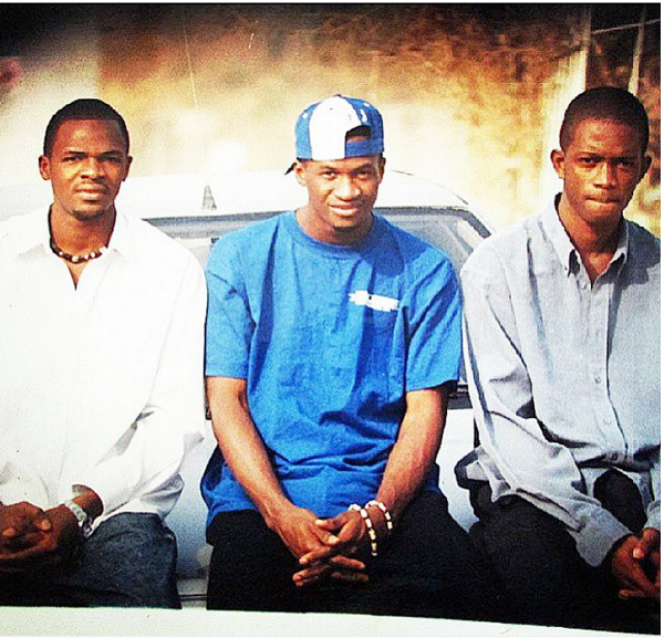 Paul Okoye of P-Square throwback photo at UNIABUJA