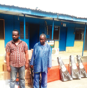 Lagos trader arrested over paying N600,000 for N19m worth of stolen goods (Photos)