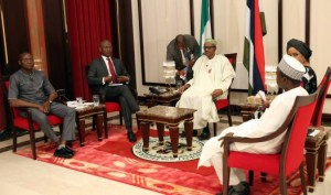 President Buhari gives his first media chat