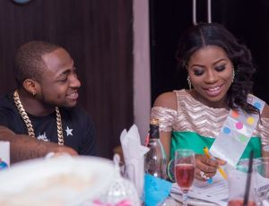 Throwback to when Davido told his first baby mama, Sophia Momodu that he can't imagine life without her. (Photo)