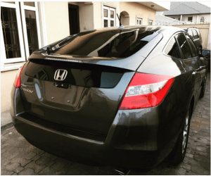 Seyi Law buys wife, Ebere Stacy a brand new car (Photo)