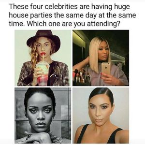 , Interesting Question – Which Celeb party will rock the most ???, Effiezy - Top Nigerian News & Entertainment Website