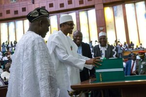 President Buhari lobbies N'Assembly on passage of the corrupt 2016 budget