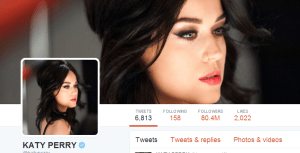 , Katy Perry just became the most followed person on Twitter, and also the First Person to reach 100 Million Twitter followers, Effiezy - Top Nigerian News & Entertainment Website