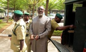 JUST IN: Olisa Metuh collapses in court