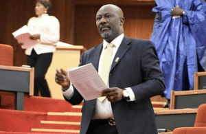 """How can you be comfortable in Aso-Rock without physically visiting Benue after 70 people were killed"" – Dino Melaye attacks Buhari (Video)"