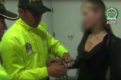Model, Yeimy Rey arrested at Bogota airport