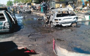 Army confirms 22 killed in Borno suicide attacks
